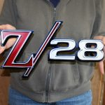 1969 Camaro Z28 Fender Emblem CAM14 15X8 -Metal Sign
