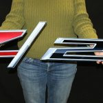 2014 CAMARO Z28 FLAT METAL SIGN CAM25 LARGE 2 PC