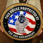 2nd AMENDMENT CIRCLE SIGN THIS HOUSE PROTECTED