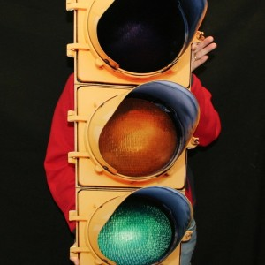 35 x 14 – 14 Gauge Flat Stop Light Sign