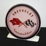 CHEVROLET CORVETTE 1953-54 EMBLEM FREE STANDING Metal Sign