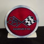 CHEVROLET CORVETTE 1975-1976 FREE STANDING Metal Sign COR17