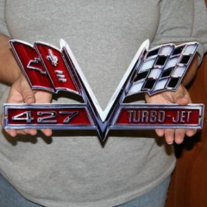 CHEVROLET Camaro 427 Turbo Jet – Metal Sign 14×7