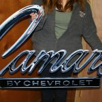 CHEVROLET Camaro Sign CAM2 1968-69 Header SUPERSIZED 50 WIDE