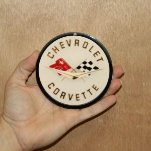 CHEVROLET STEEL SIGN Corvette COR2 4×4- Magnet