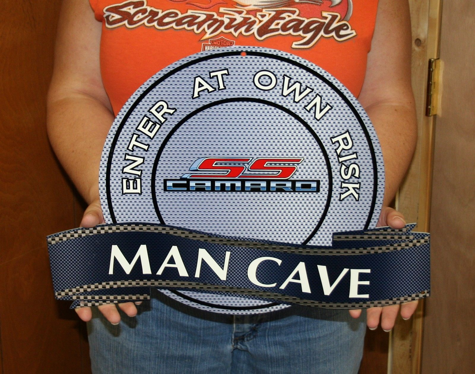 Man Cave Gifts Wholesale : Chevy gm camaro vette mancave and private parking signs