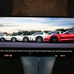 Chevrolet Corvette Metal Sign C7 2014 GENERATIONS POSTER 35x12