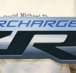 Chevrolet Corvette Metal Sign CORZR1 34x8