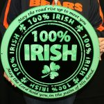 IRISH 100 -WALL ART- 19X19 CIRCLE