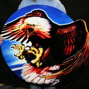 USA FREEDOM EAGLE – NAVY, ARMY, MARINES -SWOOPEAGLE 35X30
