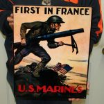 USMC STEEL WALL ART 18x14- MCWALL 04