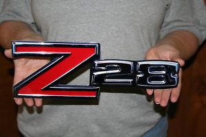 Z28 Front Fender Emblem Metal Sign- 14×5