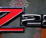 Z28 Front Fender Emblem Metal Sign