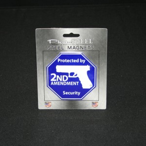 MAGNET 2ND AMENDMENT OCTAGON