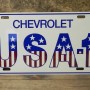 CHEVY RED WHITE BLUE SUPERSIZED 35X17