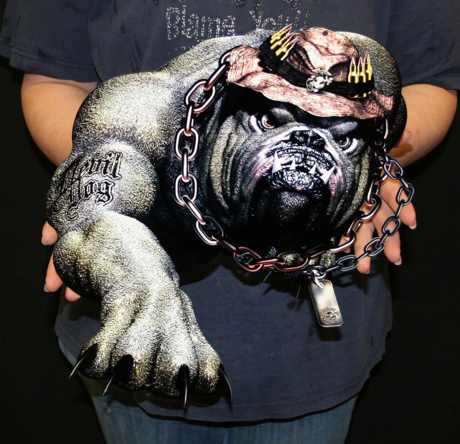 usmc devil dog flat steel sign 17 x14 custom steel signs and gifts photosteel usmc devil dog flat steel sign 17 x14